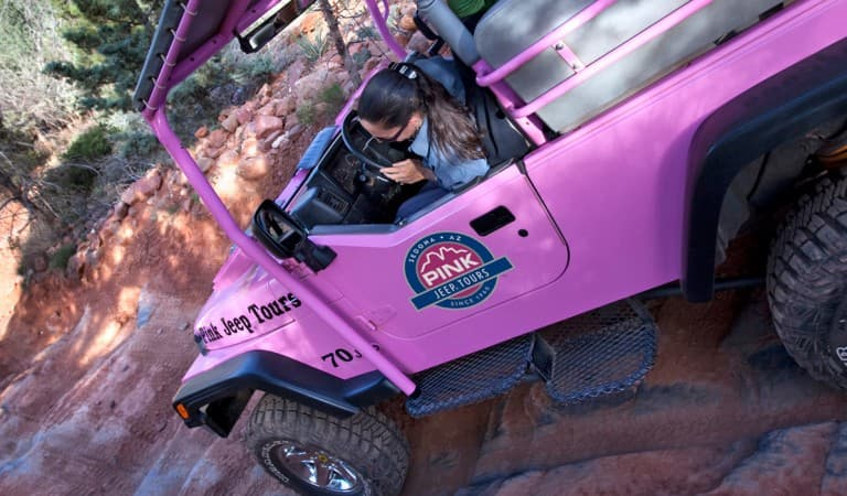 Pink Adventure Group Tours with Hilton Sedona at Bell Rock, Arizona,  Resorts in AZ