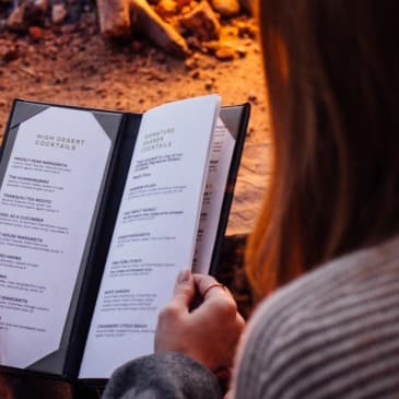 There's something for everyone on our extensive menus.