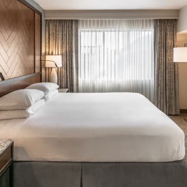 Our luxurious king-sized beds are the perfect place to rest your head.
