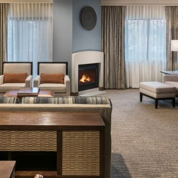 Our one-bedroom suites feature separate living and dining areas.Our one-bedroom suites feature separate living and dining areas.