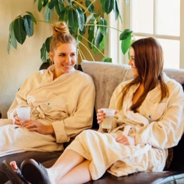 Spend a leisurely day with friends in our spa.